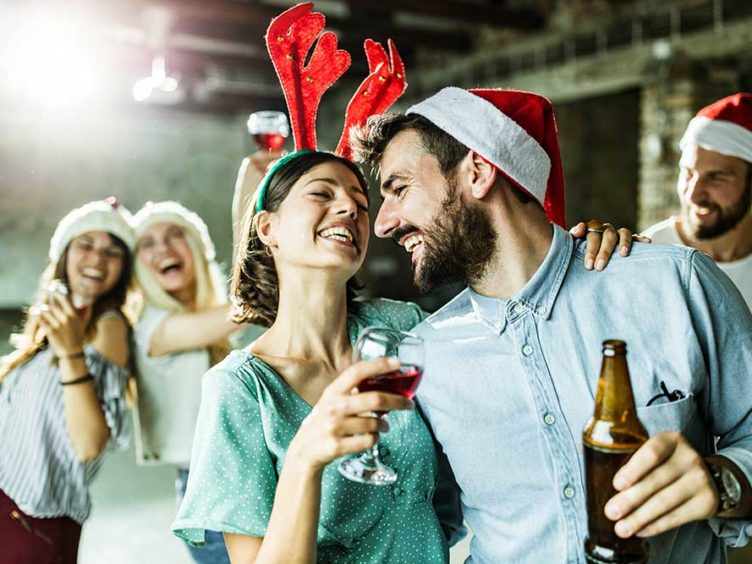 T'is the Season to Be…Horny? Over 50% of People Have Seen Coworkers Hook-Up at a Company Party
